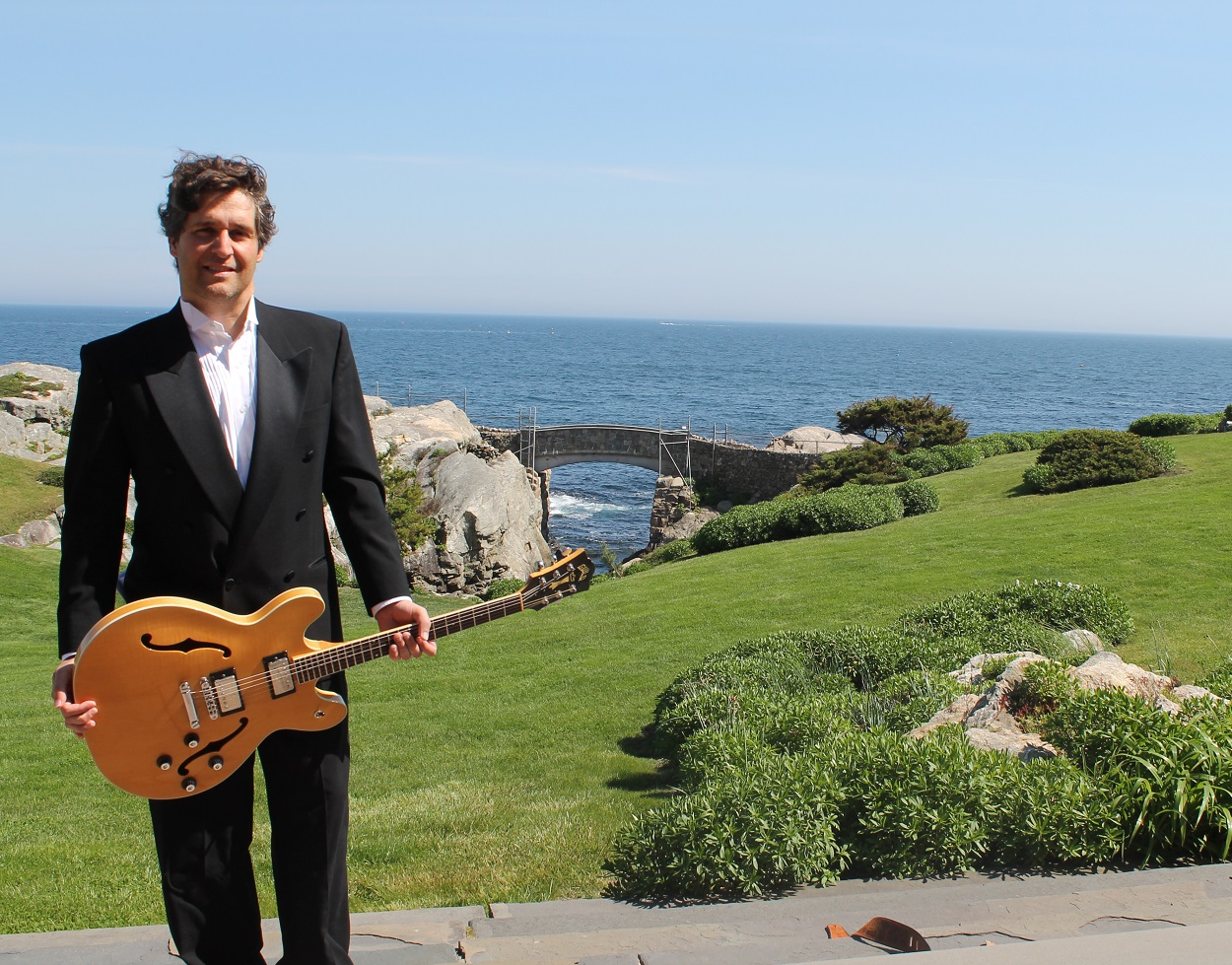 Photo of musician Francisco Pais at Rough Point
